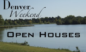 Denver open house photo with text wide