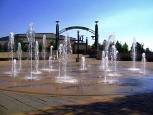 Cool off with Westminster's Water Features
