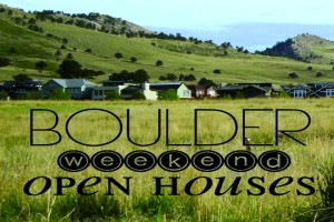 Weekend open houses in Boulder